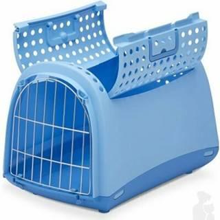 Přepravka pro kočky a psy Cabrio Modrá Argi