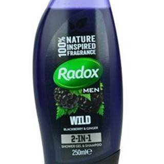 Radox sprchový gél Men 2v1 Feel Wild / Ginger 250ml