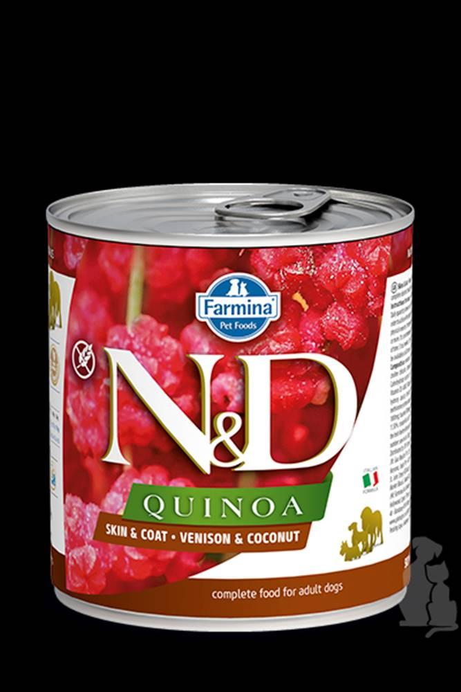 N&D (Farmina Pet Foods) N&D DOG QUINOA Venison & Coconut 285g