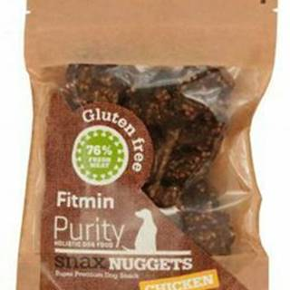 Fitmin dog Purity Snax NUGGETS chicken 64g