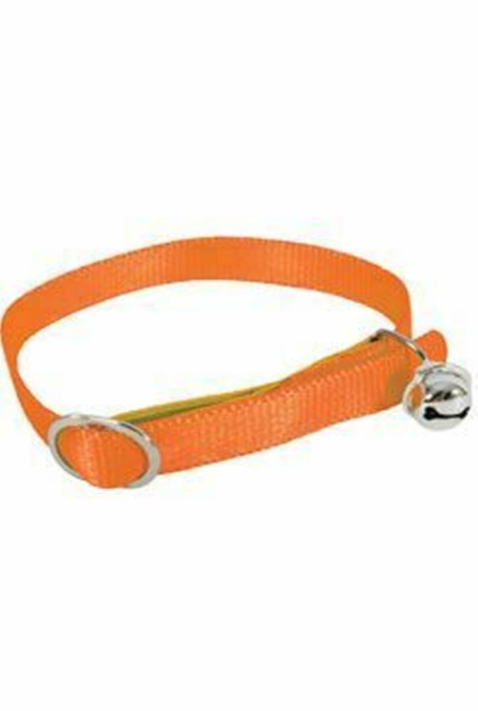 Zolux Obojok mačka nylon 10mm / 30cm oranžový Zolux