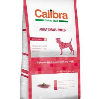 CALIBRA dog GF ADULT small kačica - 7kg
