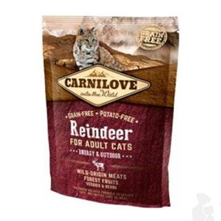 Carnilove Cat Reindeer for Adult Energy & Outdoor 400g