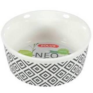 Miska keramická NEO hlodavec 250ml biela Zolux