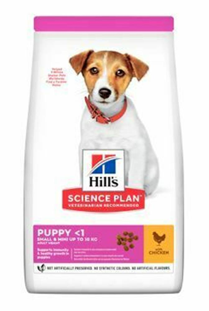 Hill's Hill's Can.Dry SP Puppy  Small&Mini Chicken 6kg
