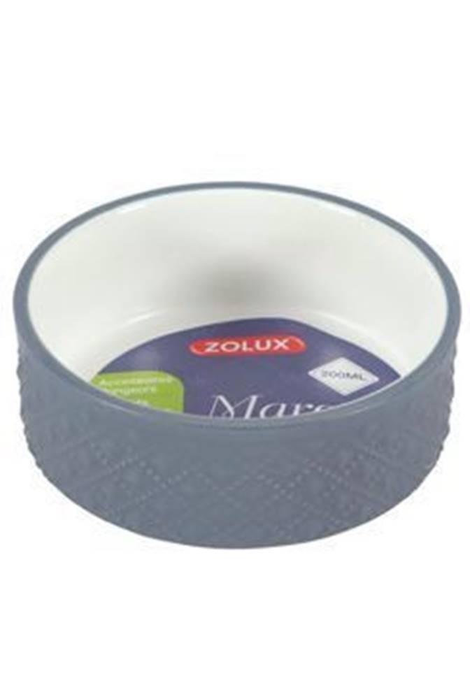 Zolux Miska keramická MARGOT hlodavec 100ml šedá Zolux