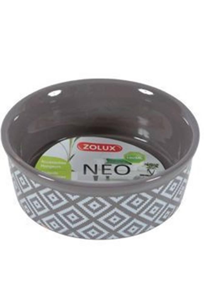 Zolux Miska keramická NEO hlodavec 250ml hnedá Zolux