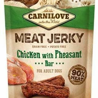 Carnilove Dog Jerky Chicken with Pheasant Bar 100g