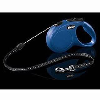 Vodítko FLEXI Classic NEW S pásek 5m/15kg modrá