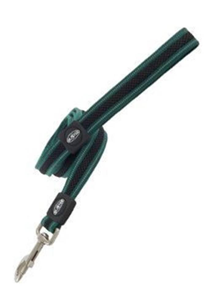 Kruuse Jorgen A/S Vodítko BUSTER AIRmesh reflexné L / XL 140cm / 25mm zelené