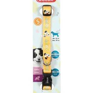 Obojok pes šteňa MASCOTTE nastaviteľný žltý 8mm Zolux