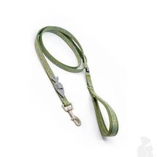 Vodítko Hurtta Razzle Dazzle Stand.zelené 180cm/15mm