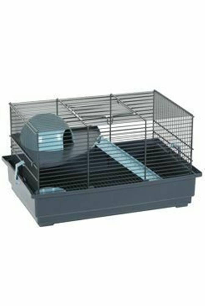 Zolux Klietka myš INDOOR 2 40cm modrá / sivá s výbavou Zolux