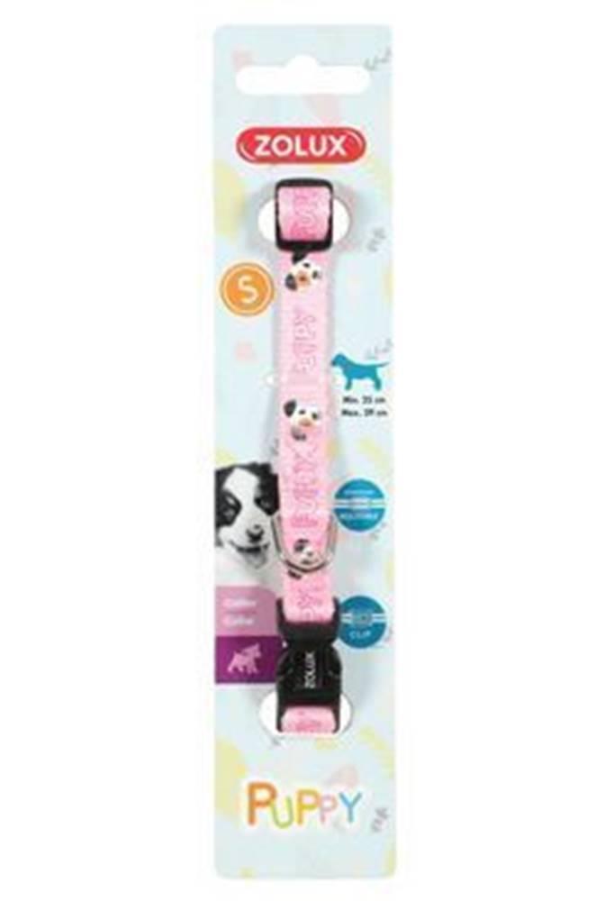 Zolux Obojok pes šteňa MASCOTTE nastaviteľný ružový 8mm Zolu