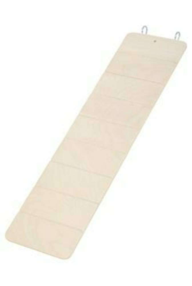 Zolux Rebrík pre hlodavce drevený 45x11,5cm Zolux