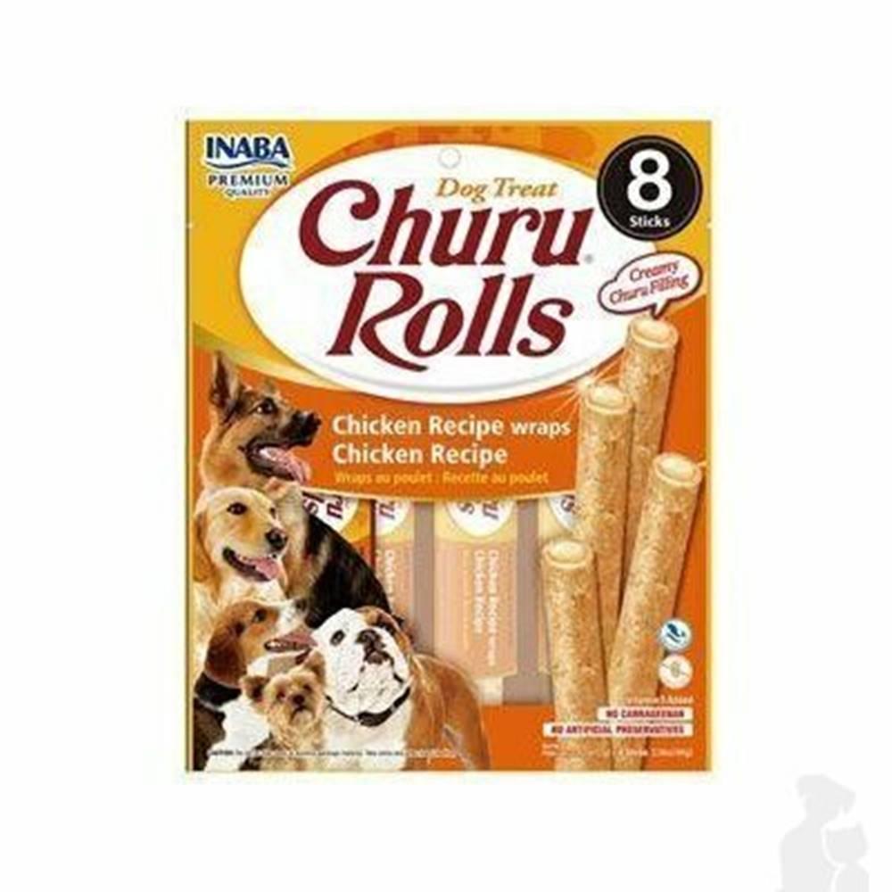 Ostatní Churu Dog Rolls Chicken wraps Chicken 8x12g