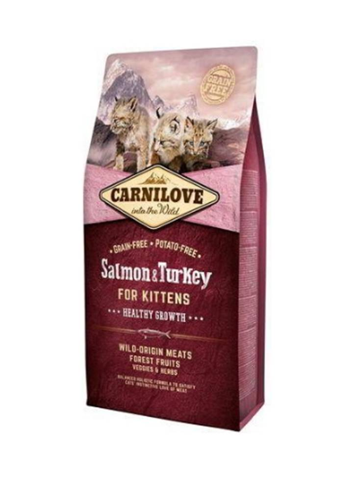 Carnilove Carnilove Cat Salmon & Turkey for Kittens HG 2kg