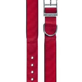 Obojek nylon DAYTONA C 63cmx40mm červený FP 1ks