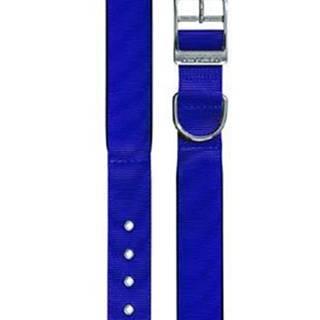 Obojek nylon DAYTONA C 63cmx40mm modrý FP 1ks