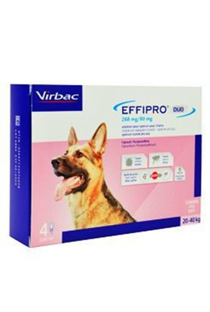 Virbac Effipro DUO Dog L (20-40kg) 268/80 mg, 4x2,68ml