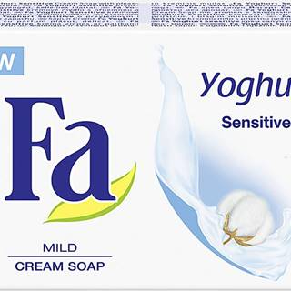 Fa mýdlo Senzitive Yoghurt bílé 90g