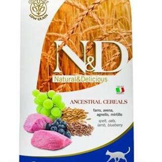N&D Low Grain CAT Adult Lamb & Blueberry 5kg