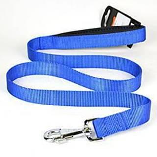 Vodítko nylon DAYTONA-Ploché 120/25 modré FP 1ks