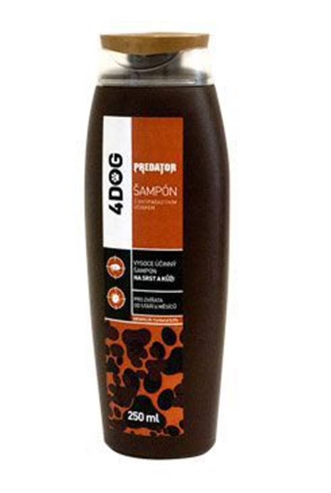 Predátor PREDATOR 4DOG šampon antiparazitní 230ml