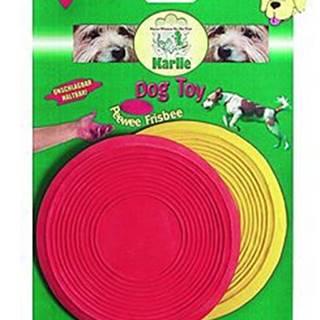 Hračka pes létající talíř PeeWee 13cm latex KAR 2ks