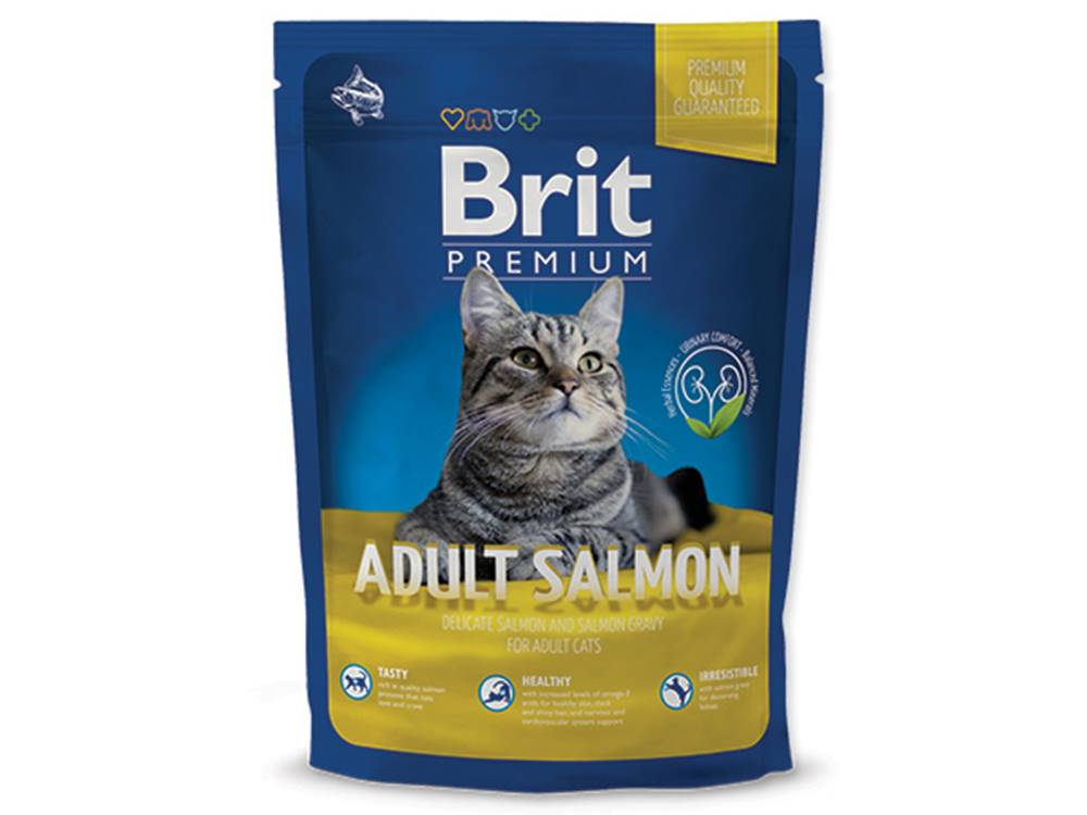 Brit Premium Cat Adult Salm...