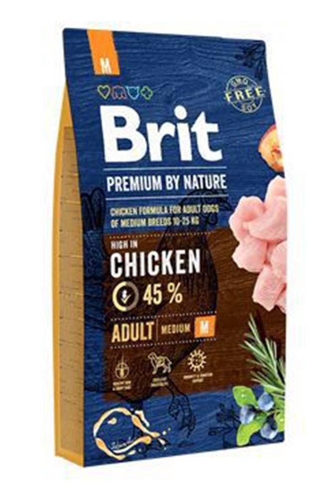 Brit Brit Premium Dog by Nature Adult M 8kg