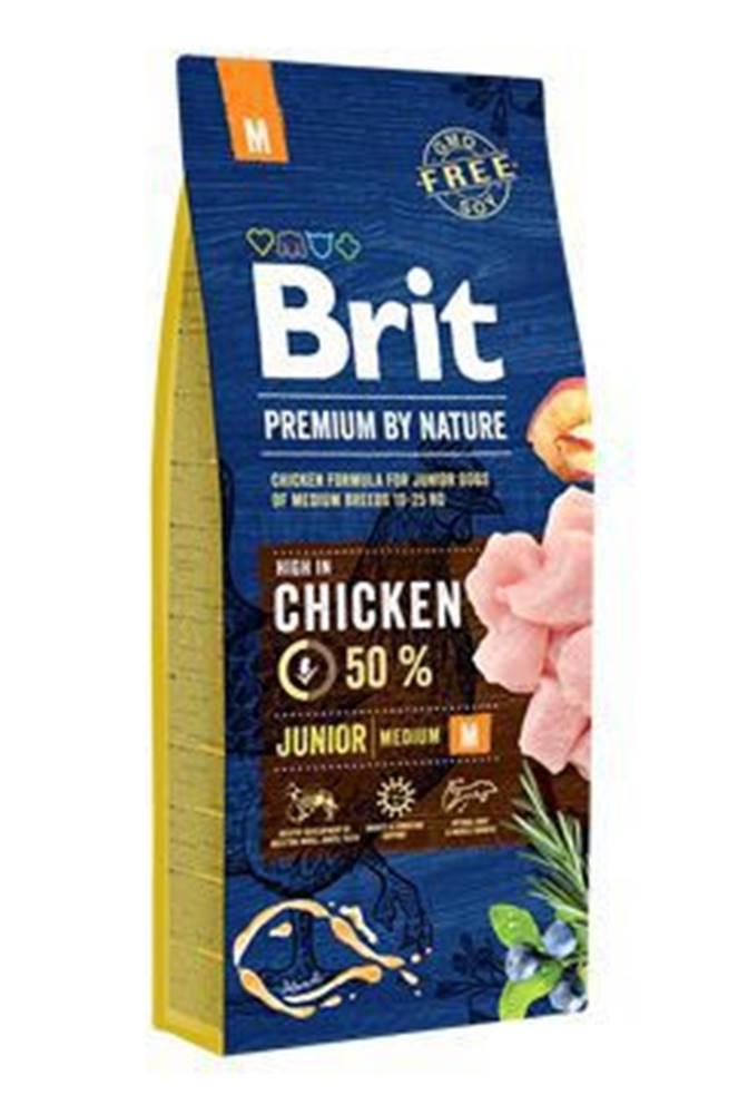 Brit Brit Premium Dog by Nature Junior M 15kg