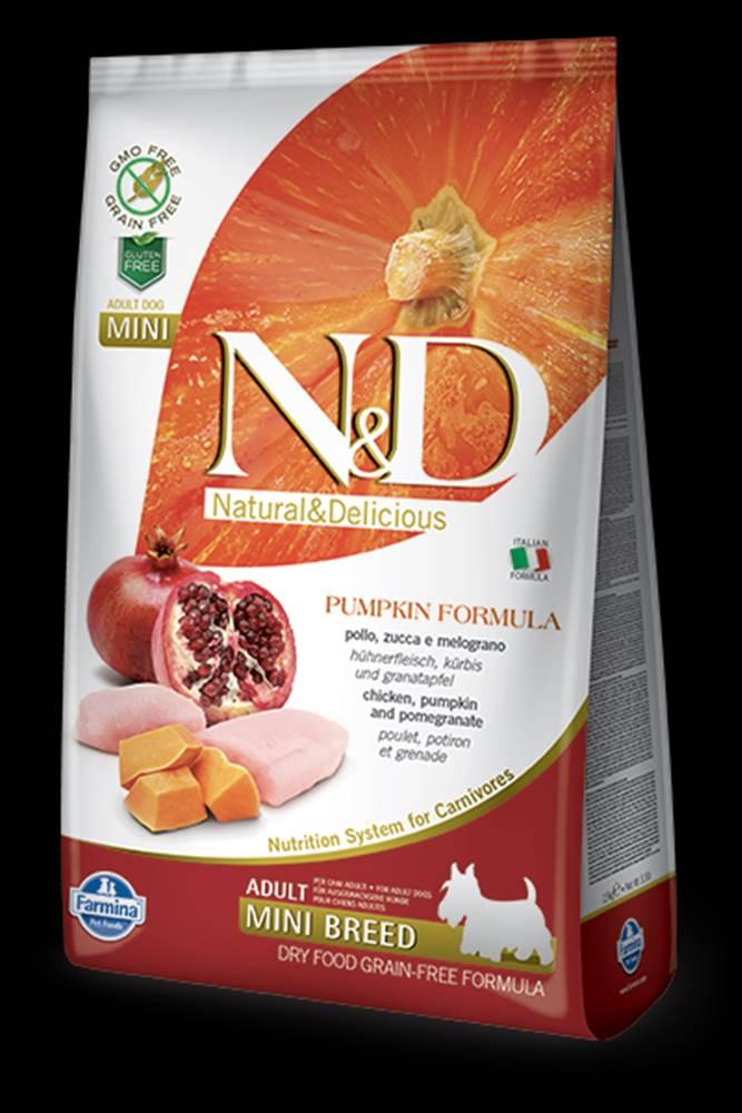 N&D N&D GF Pumpkin DOG Adult Mini Chicken&Pomegranat 2,5kg