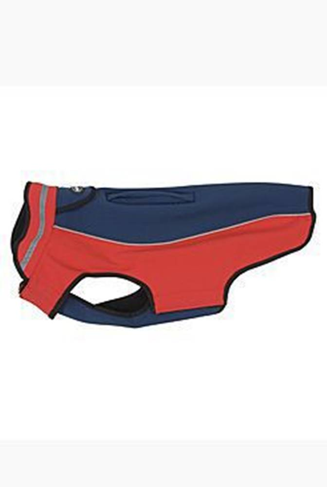 KRUUSE Obleček Softshell  Tm.modrá/Červená  25cm  XS  KRUUSE