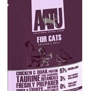 AATU Cat Chicken n Quail kaps. 85g