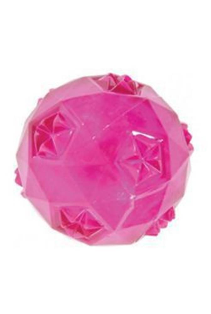 Zolux Hračka pes míček TRP BALL 6cm růžová Zolux