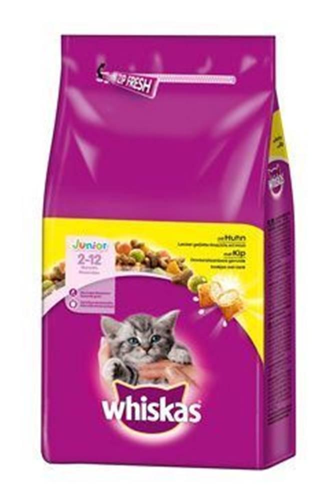 Whiskas Whiskas Dry Junior s kuracím mäsom 14kg