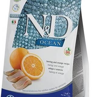 N&D OCEAN CAT GF Adult Herring & Orange 5kg