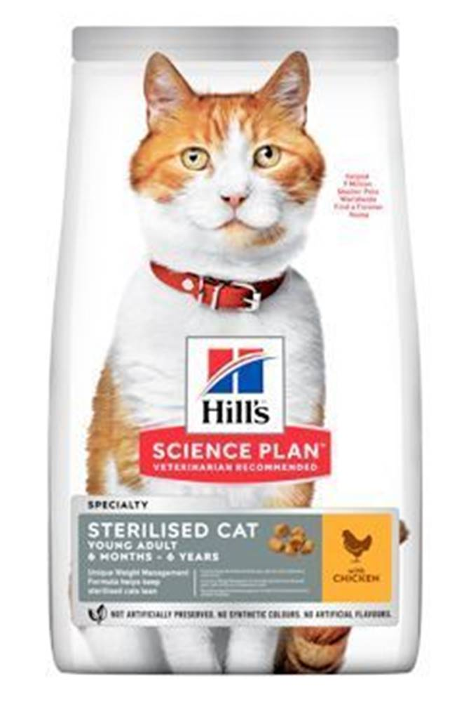 Hill's Hill's Fel. Dry Adult Young Sterilised Cat Chicken 3kg