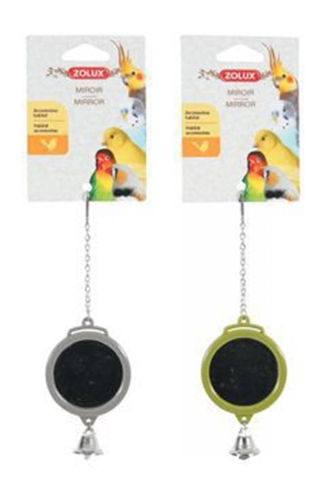 Zolux Hračka pro ptáky zrcátko kulaté plast Zolux