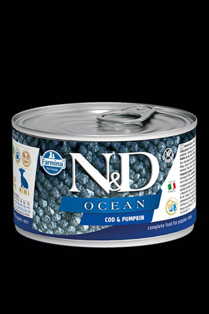 N&D (Farmina Pet Foods) N&D DOG OCEAN Puppy Codfish & Pumpkin Mini 140g