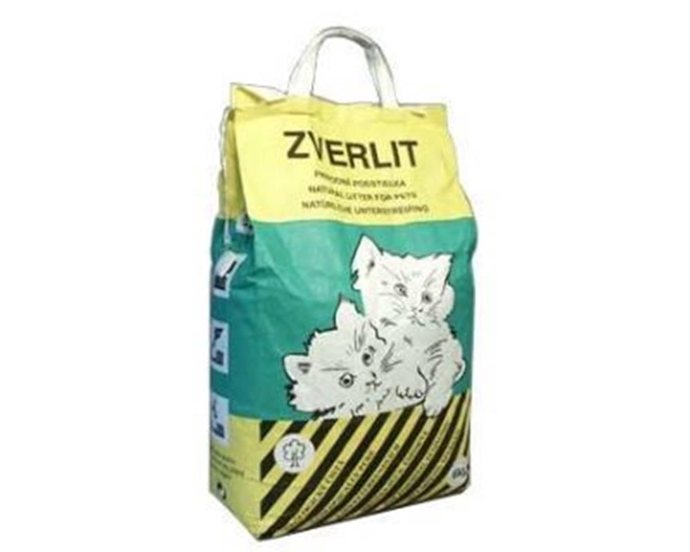 Zverlit ZVERLIT zelený hrubá Podestýlka kočka 6kg