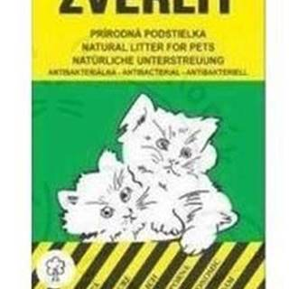 Zverlit zelený hrubá Podestýlka mačka 10kg