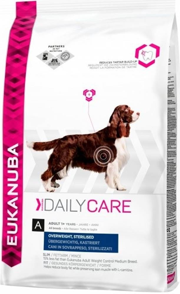 Eukanuba Eukanuba Dog  DC Overweight Sterilized 12,5kg