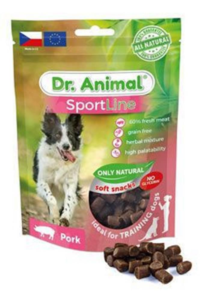 Ostatní Pochoutka Dr. Animal Sportline vepřové 100g