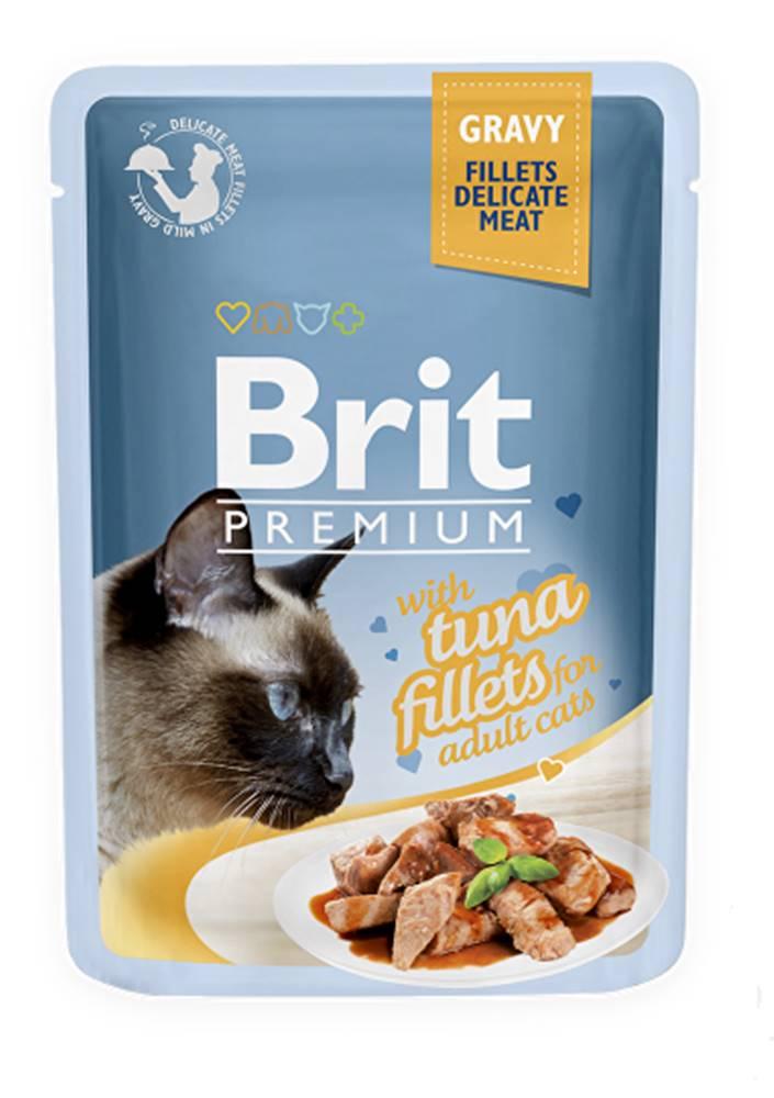Brit Brit Premium Cat D Fillets in Gravy With Tuna 85g