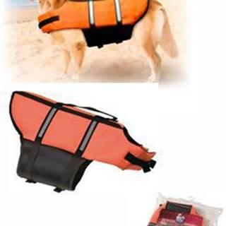 Vesta plavací Dog L 40cm oranžová KAR
