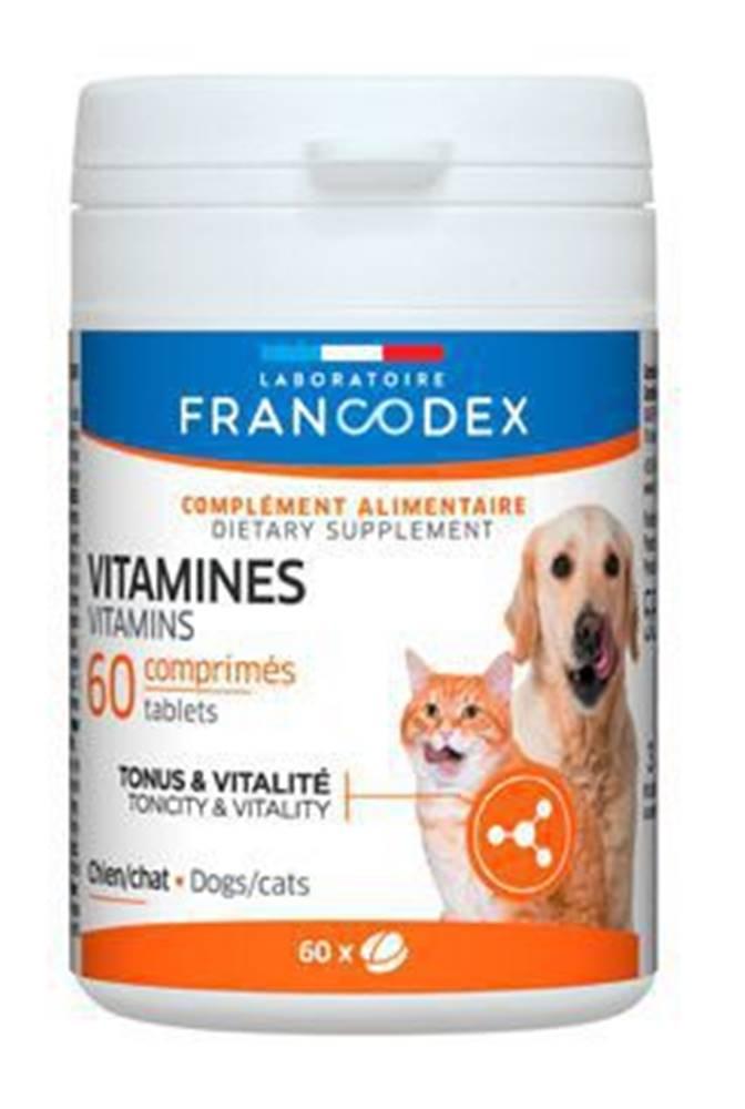 Francodex Francodex Vitamíny pes, kočka 60tab