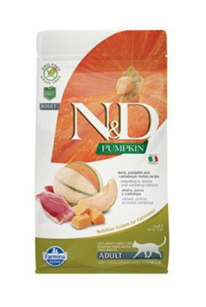 N&D N&D GF Pumpkin CAT Duck & Cantaloupe melon 1,5kg