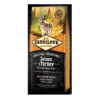Carnilove Dog Salmon & Turkey for LB Adult  12kg